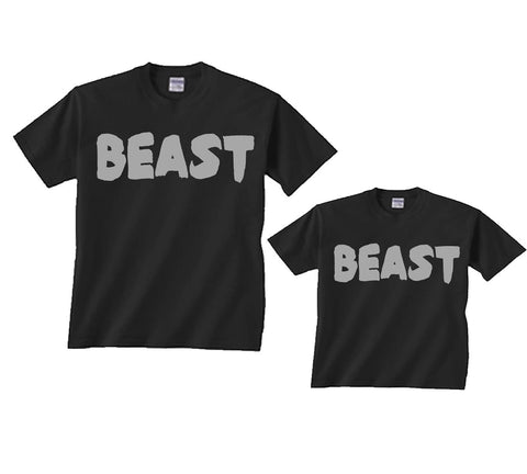 BEAST Father Son T-shirts