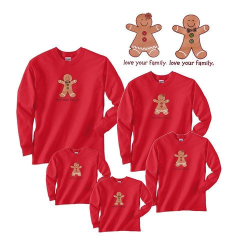 GINGERBREAD Boy or Girl Shirts