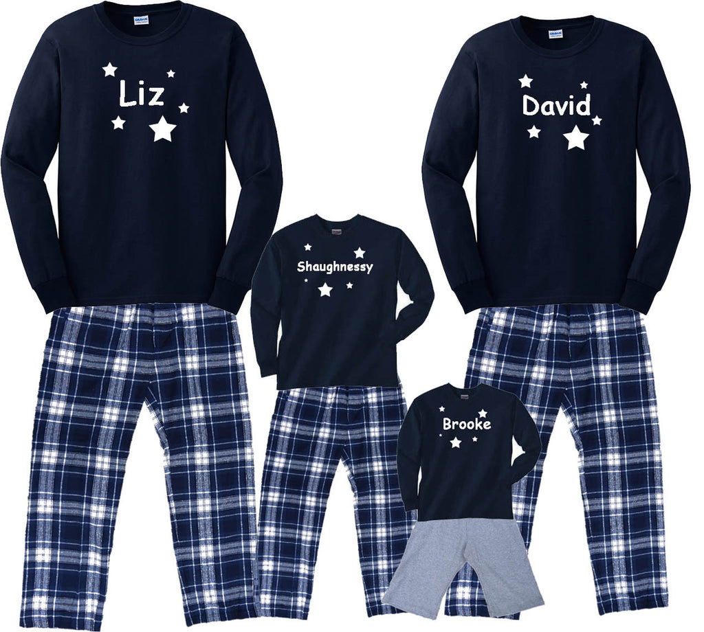 "GLOW-IN-THE-DARK Personalized ""Written in the Stars"" Family Outfits"