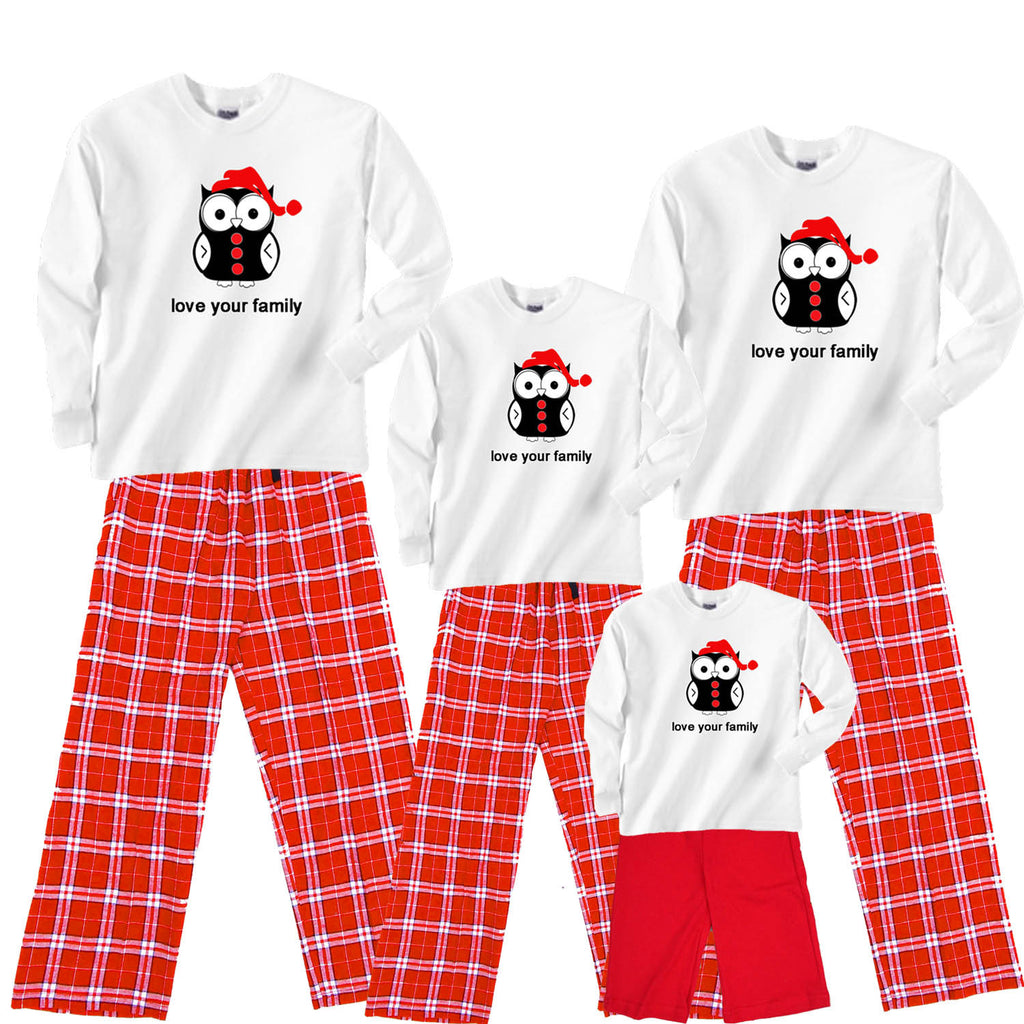 HOLIDAY HOOTER Owl Family Matching Sets