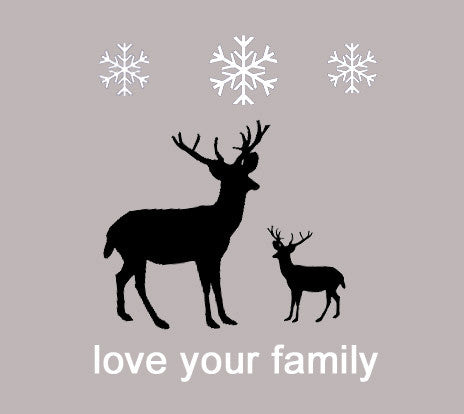 Classic Nordic Reindeer Family Holiday Shirts