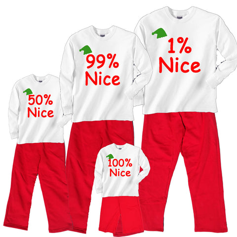 99% (or not) Nice Family Holiday Sets - Choose your % Nice factor!