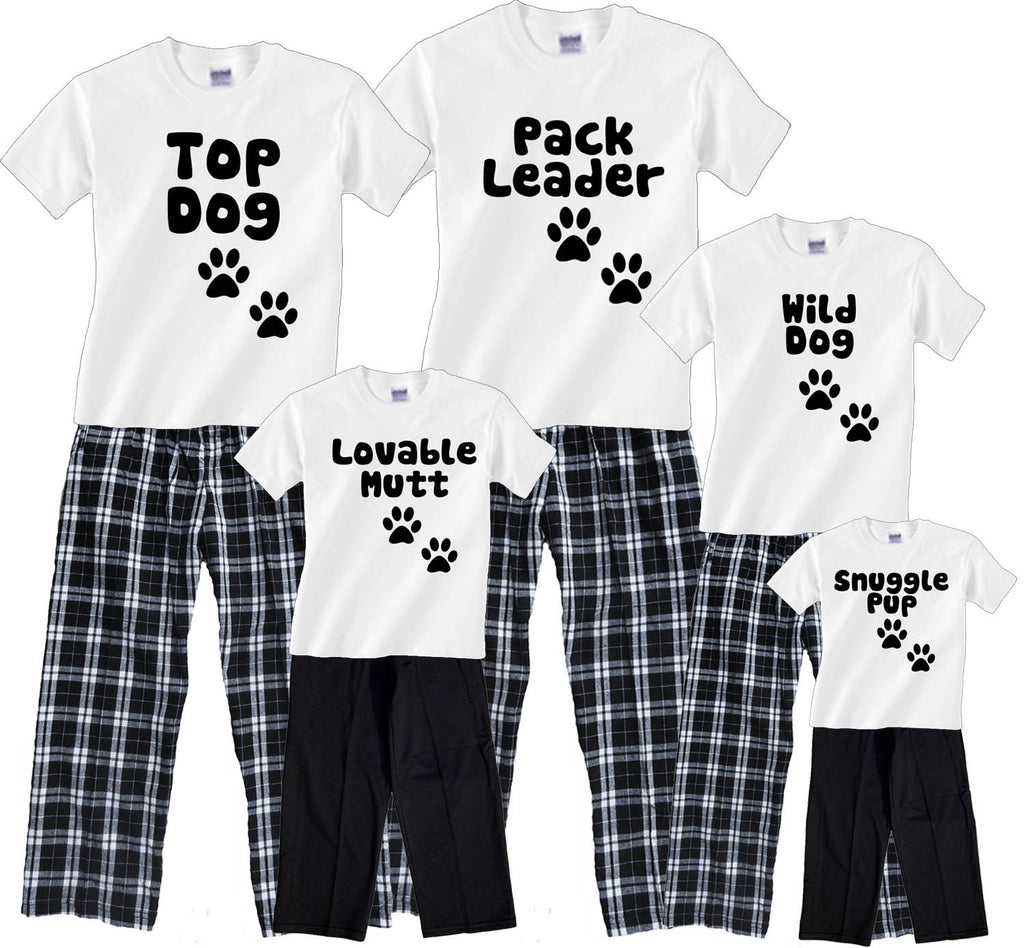 DOG PACK FAMILY Pant sets - Personalize for your whole family!
