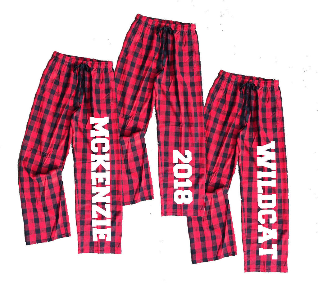 6b8388901a1 Personalized Buffalo Plaid Flannel Pants for the Whole Family ...