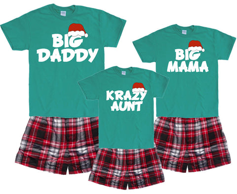 Who's WHO in Whoville Matching Family Boxer Short Pajama Sets