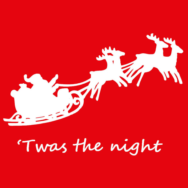 Santa's Sleigh 'Twas the Night Family Matching Sets