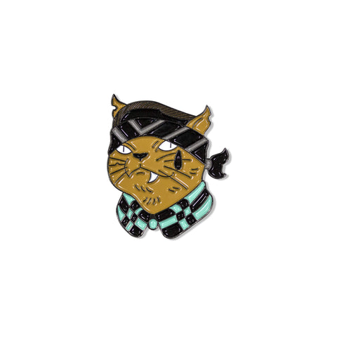 Anibal Pantoja - Gato Cholo Alternative Pin