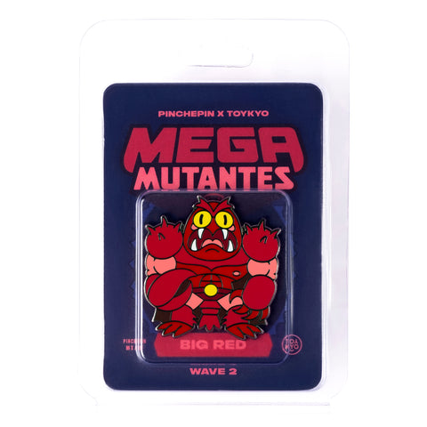 Mega Mutantes - Big Red Pin