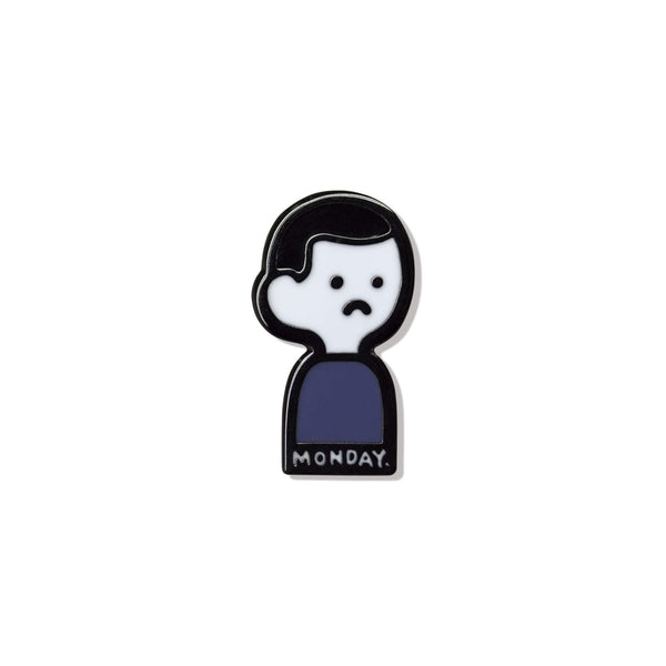 Blue Monday Pin