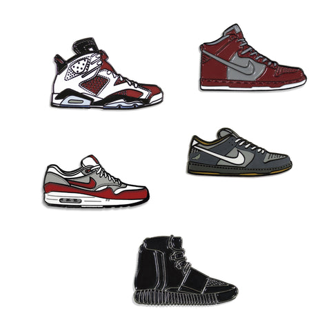 Sneakers Pin Pack Cinco