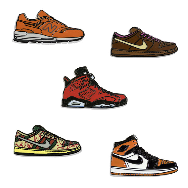 Sneakers Pin Pack Tres