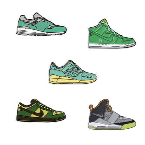Sneakers Pin Pack Dos
