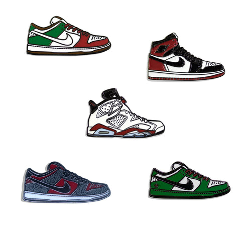 Sneakers Pin Pack Cuatro