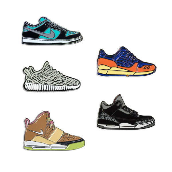 Sneakers Pin Pack Uno