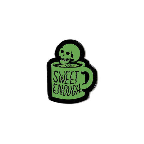 Sweet Enough Glow In The Dark Pin