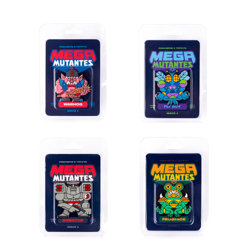 Mega Mutantes - Wave One Pin Pack