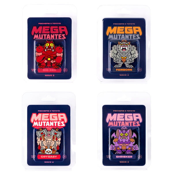Mega Mutantes - Wave Two Pin Pack