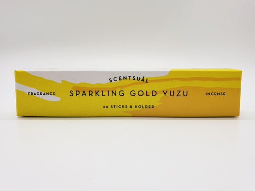 Sparkling Gold Yuzu Incense