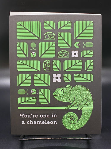 One in a Chameleon Card