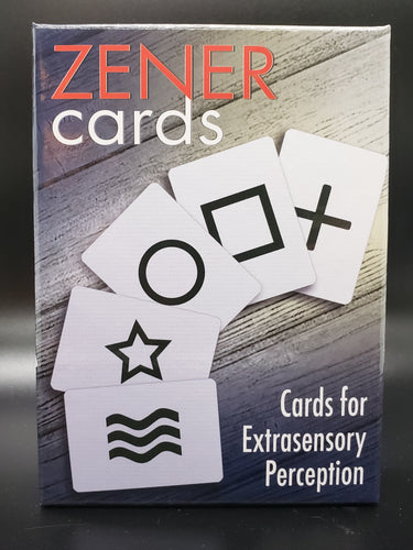 Extrasensory Perception (ESP) Zener Cards