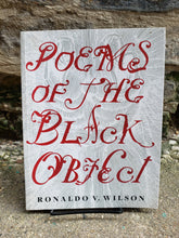 Poems of the Black Object (Used)