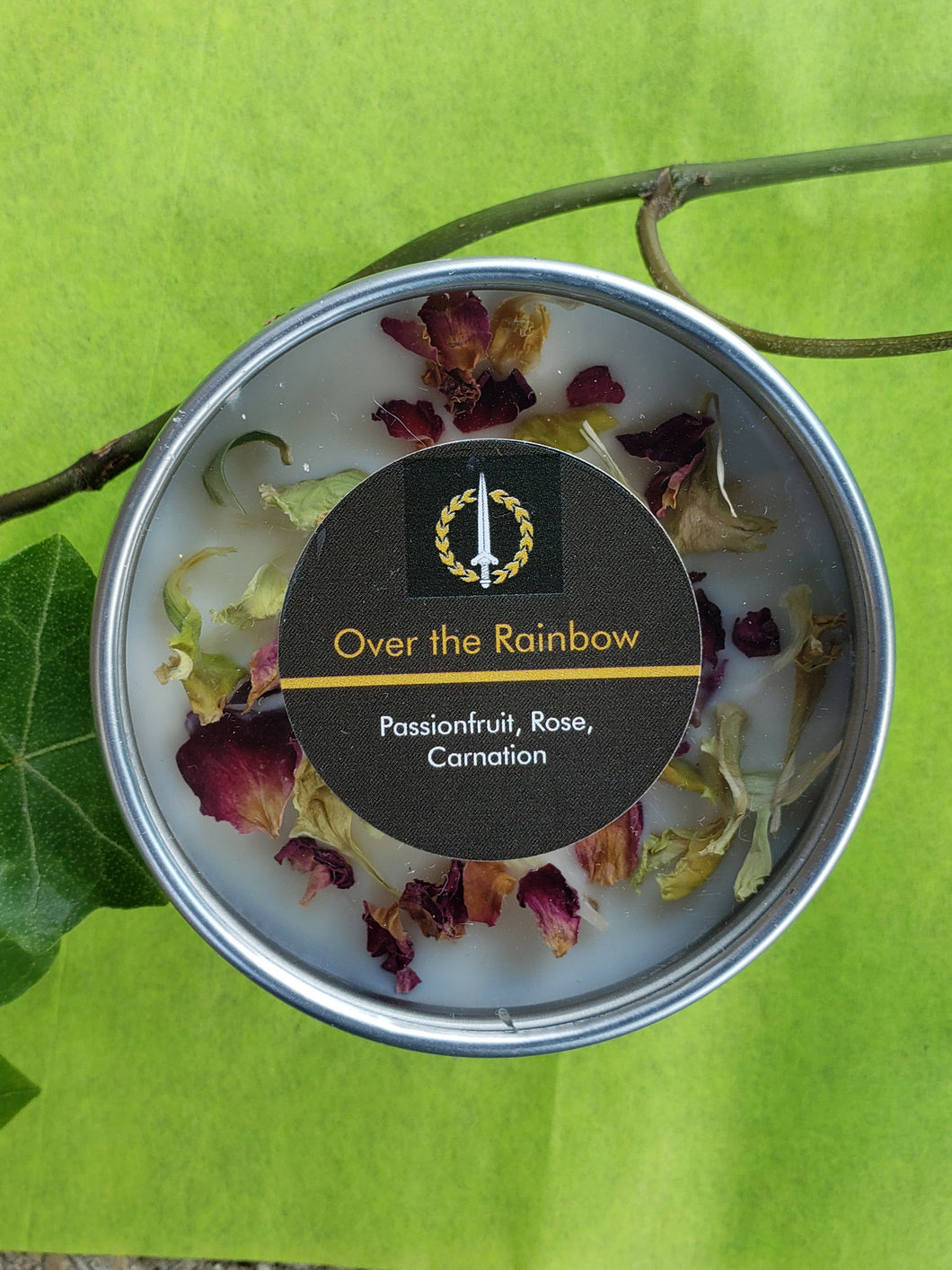 Over the Rainbow Candle