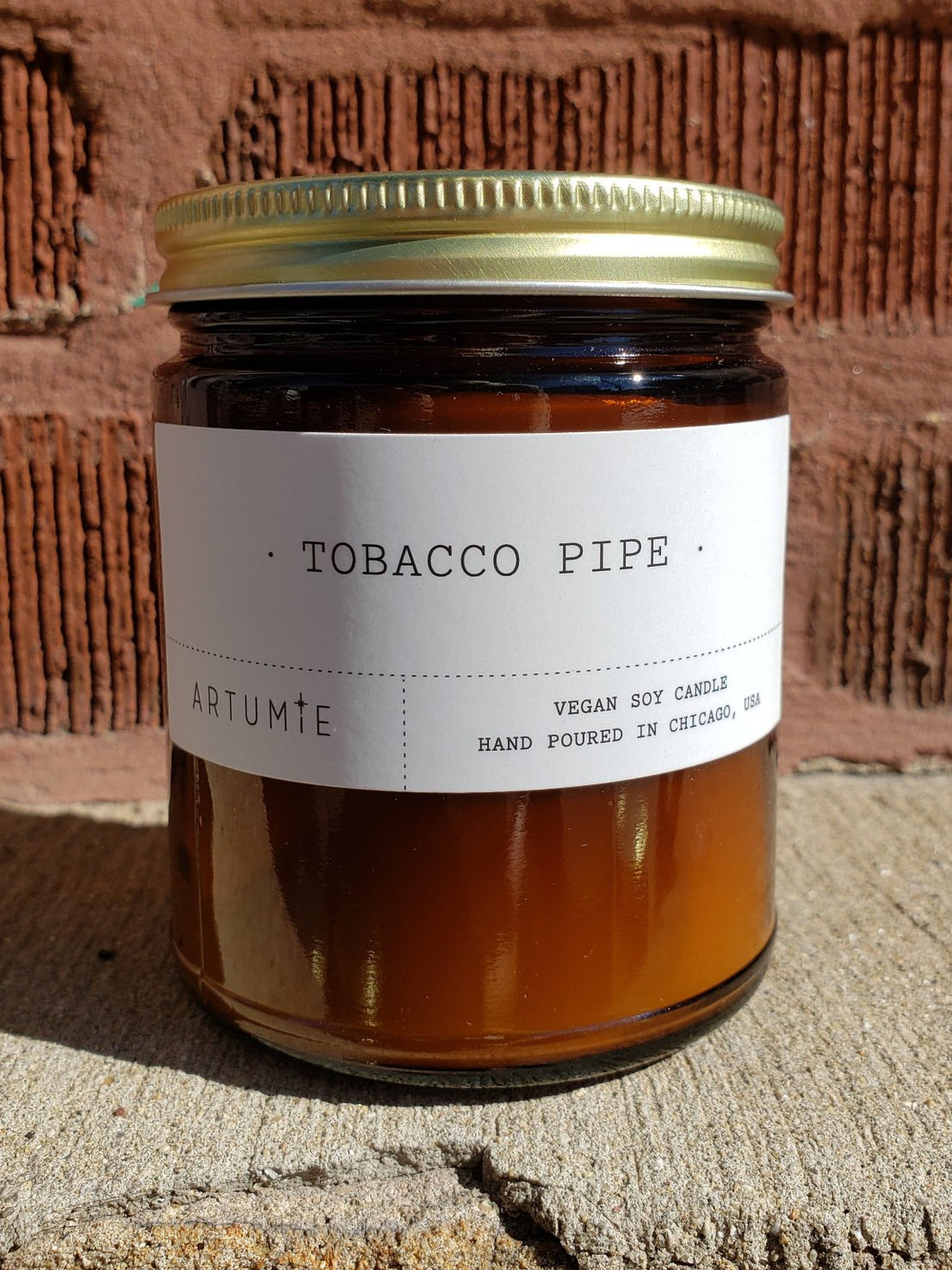 Tobacco Pipe Candle