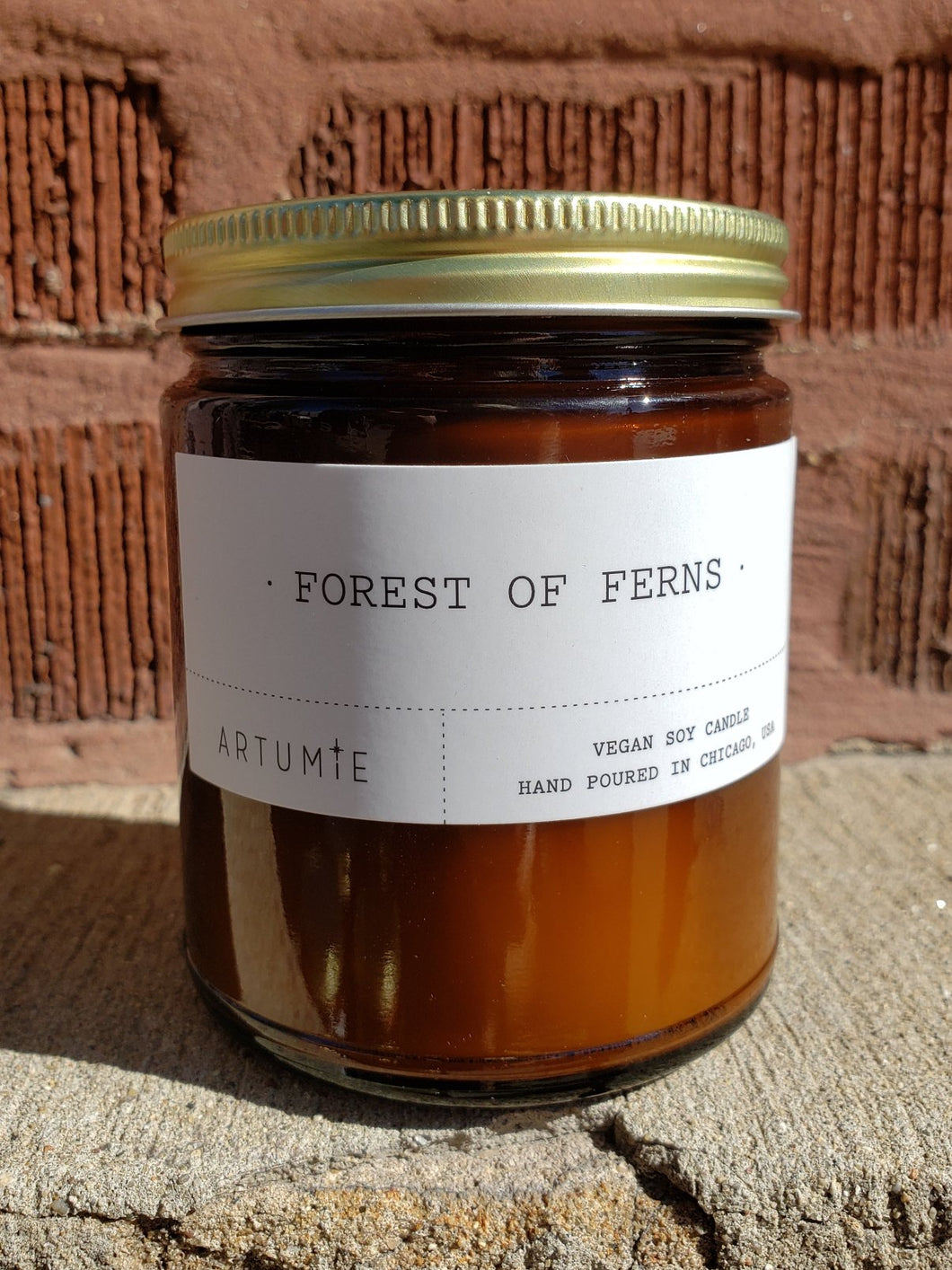 Forest of Ferns Candle