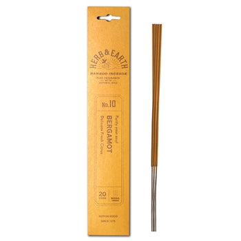 Herb & Earth Bergamot Incense