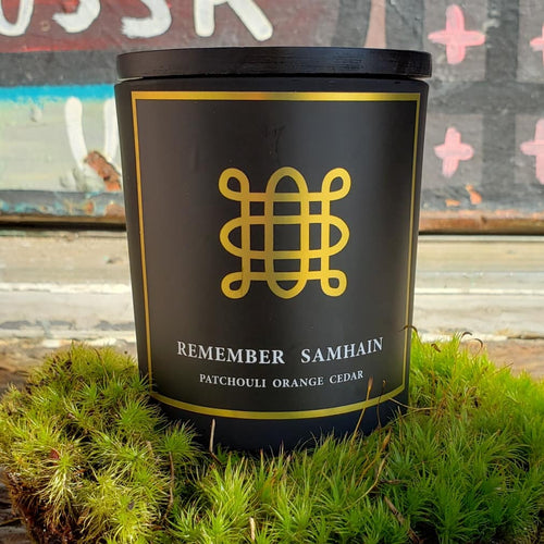 Remember Samhain Candle