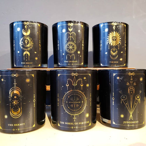 Tarot Candles by Clairvoyant Candle Co.