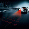 Anti Collision Rear-End Car Laser Tail Light - Anti