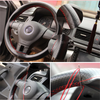 DIY Leather Steering Wheel Cover - DIY Leather Steering