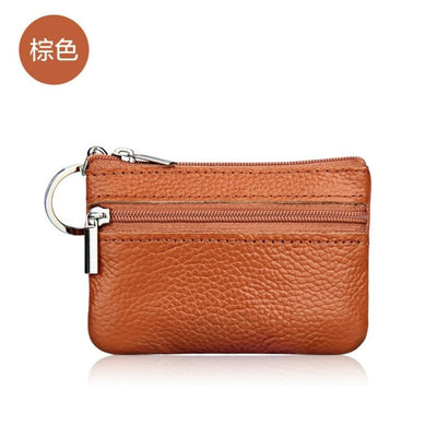 Genuine Leather Car Key Case Holder - Car Key Case Holder