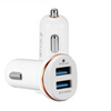 Portable 2 USB ports Car-charger