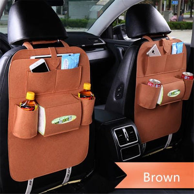 The Amazing Backseat Organizer - Brown