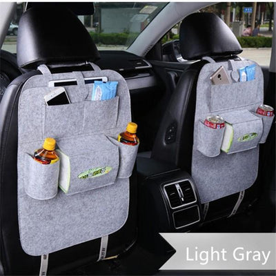The Amazing Backseat Organizer - Light Gray