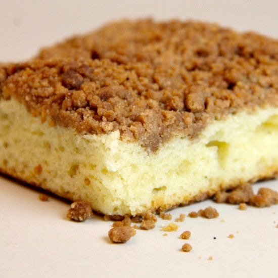 Jumbo Coffee Crumb Sliced Cake (dozen)