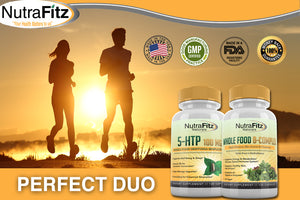 5-HTP 100mg Whole Food Griffonia Simplicifolia
