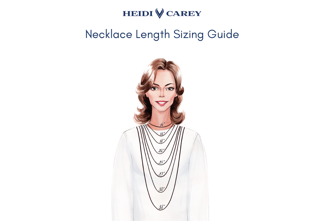 Necklace Sizing Chart