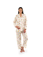 Load and play video in Gallery viewer, Peonies Print Pajamas