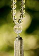 Load image into Gallery viewer, Short Turkish Tassel Quartz Crystal Necklace - Heidi Carey