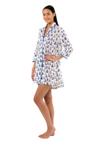 Load and play video in Gallery viewer, Pagoda Print Nightshirt