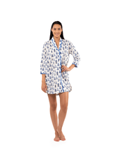 Load image into Gallery viewer, Pagoda Print Nightshirt