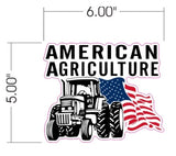 American Agriculture Decals