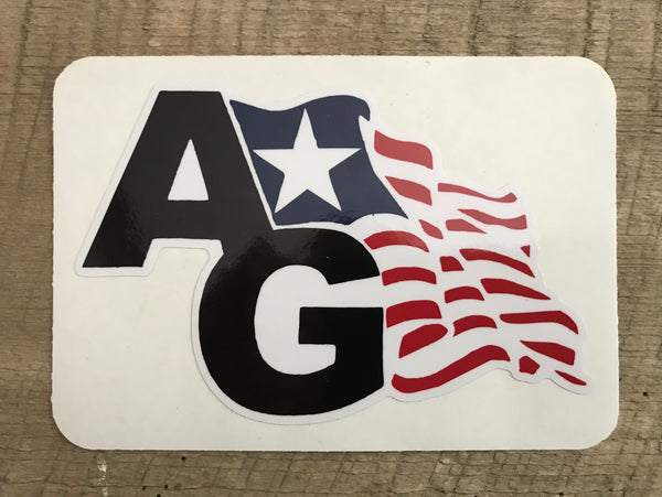 AG Flag Logo Decals