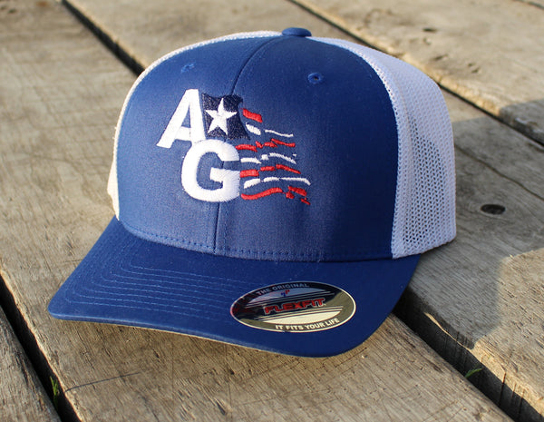 American AG Flag FlexFit Hat