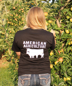 American Agriculture Cows Sweatshirt Bayside Made in the USA