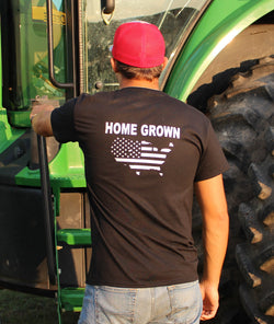 Home Grown USA Outline Sweatshirt