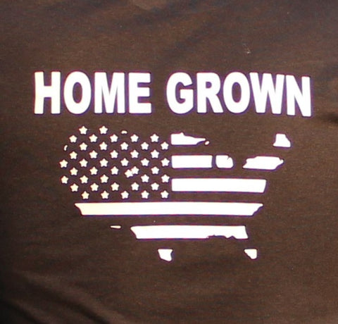 Home Grown USA Outline Long Sleeve